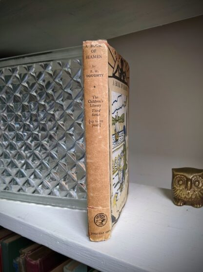 Spine view of a 1929 A Book of Seamen by F. H. Doughty