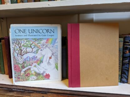 1981 One Unicorn - written and illustrated by Gale Cooper - First Edition