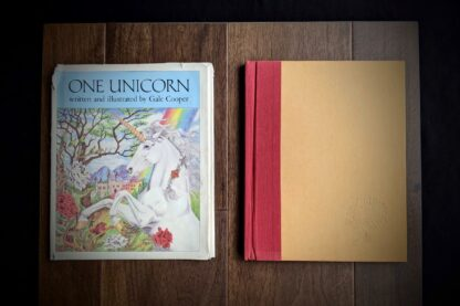 1981 One Unicorn written and illustrated by Gale Cooper - First Edition