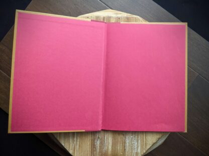 Front endpaper inside a 1981 copy of One Unicorn written and illustrated by Gale Cooper - First Edition
