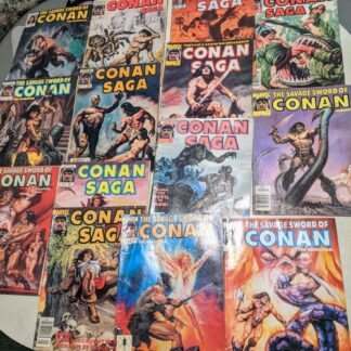 1987-1990 CONAN Marvel Comic Lot