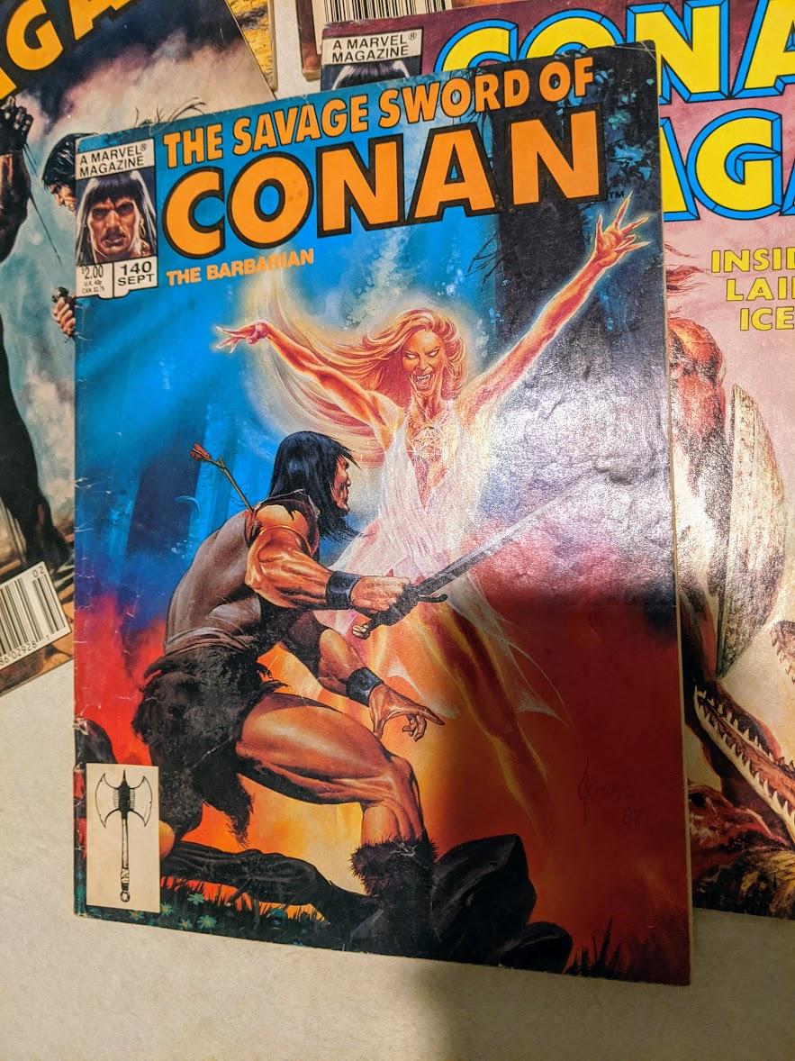 1987 The Savage Sword of Conan