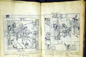 The 16th century Historia de Tlaxcala - or Codex Tlaxcala - by Diego Muñoz Camargo