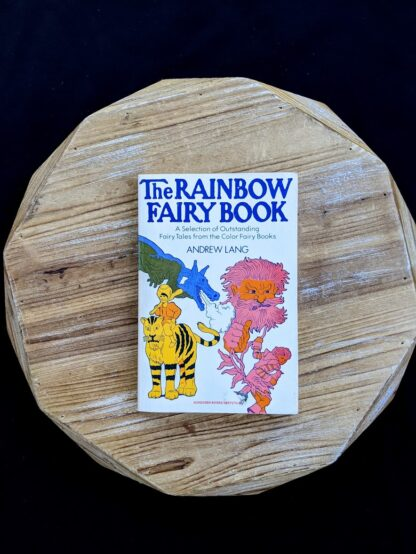 The Rainbow Fairy Book - Andrew Lang - rare 1977 Second Edition