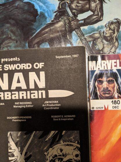 The Savage Sword of CONAN - September 1987