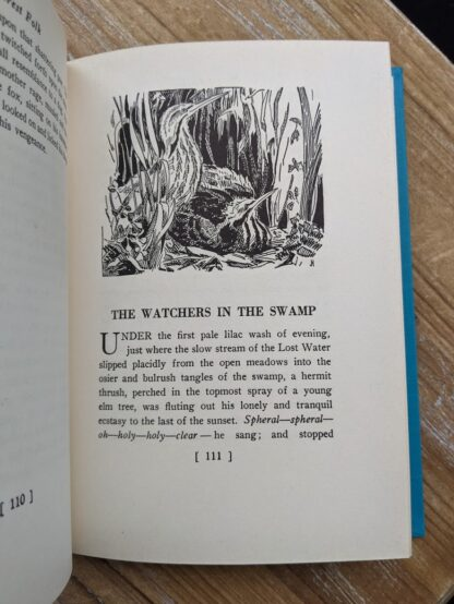 The Watchers in the Swamp - 1949 Forest Folk by Charles G. D. Roberts - First edition