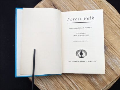 Title page - 1949 Forest Folk by Charles G.D. Roberts