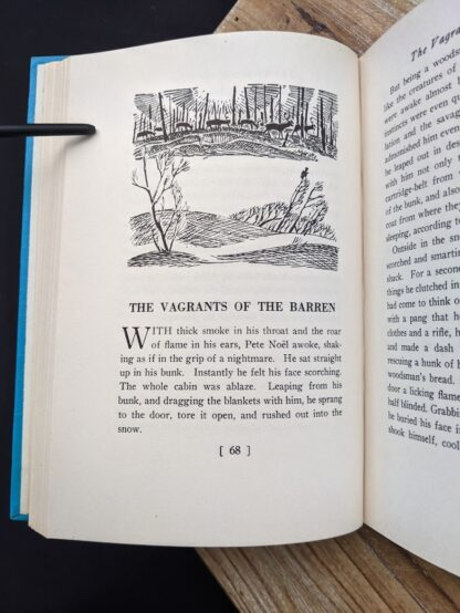 Vagrants of the Barren - 1949 Forest Folk by Charles G. D. Roberts - First edition