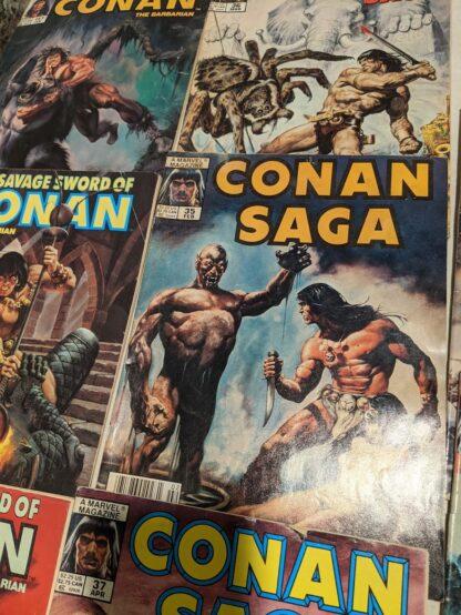Vintage CONAN Comic Lot