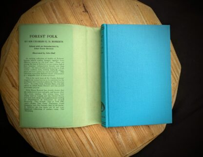 front panel on a 1949 Forest Folk by Charles G. D. Roberts - First edition
