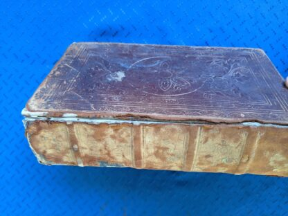 1845 The Life of our Lord and Saviour Jesus Christ to which is added a History of the Jews - by Rev. John Fleetwood - spine