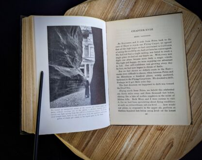 Chapter 18 inside a 1932 copy of The Flying Carpet by Richard Halliburton - First Edition