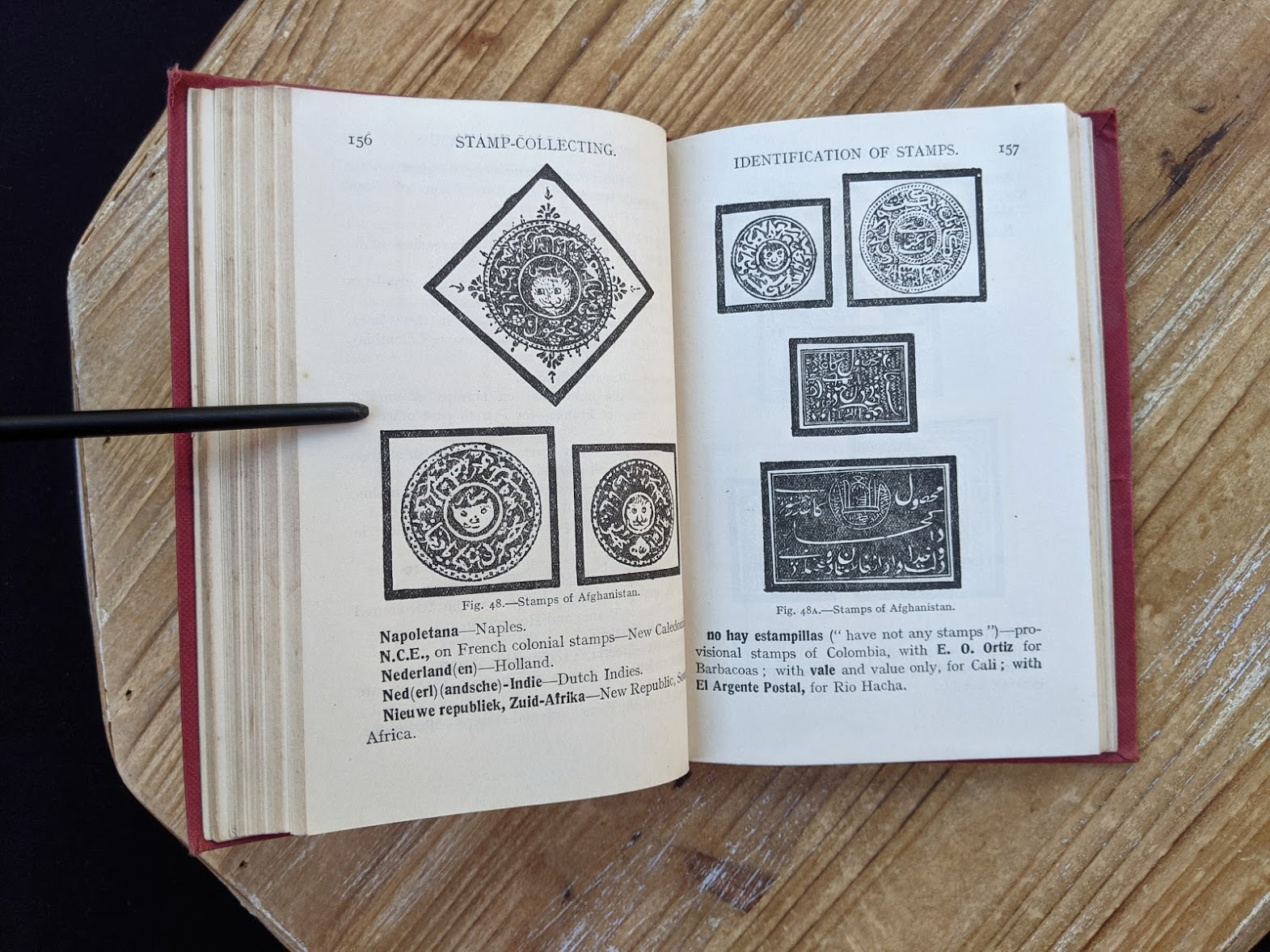 Identification of Stamps - Stamp Collecting - A Guide for Beginners by A. B. Creeke - Circa 1910