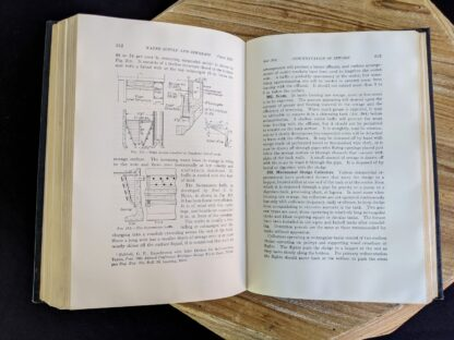 Inlet device installed in Dearborn Imhoff tanks - 1947 Water Supply and Sewerage by Ernest W. Steel - second Edition
