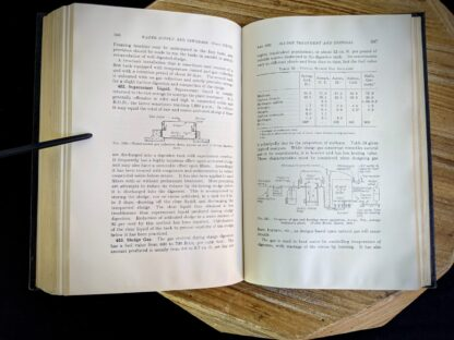 Sludge treatment and Disposal - 1947 Water Supply and Sewerage by Ernest W. Steel - second Edition