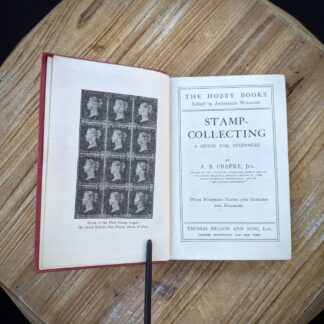 Stamp Collecting - A Guide for Beginners - The Hobby Books - Circa 1910 - Title Page