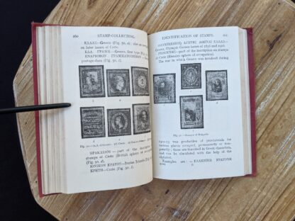 Stamp Collecting - A Guide for Beginners by A. B. Creeke - Circa 1910 - identification of stamps