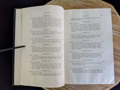 Table of Contents pages 4 and 5 of 7 - 1947 Water Supply and Sewerage by Ernest W. Steel - second Edition