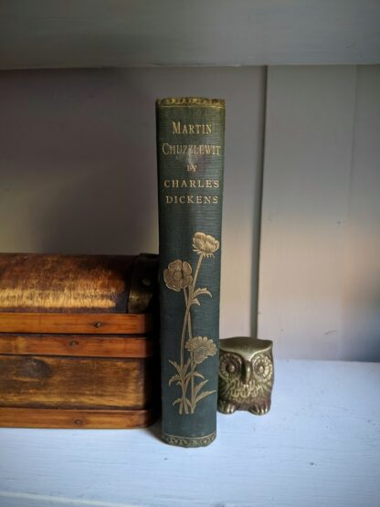 The Life and Adventures of Martin Chuzzlewit by Charles Dickens - Circa 1880's - undated