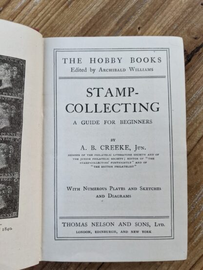 circa 1910 Stamp Collecting - A Guide for Beginners - edited by Archibald Williams