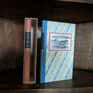 1946 Alice's Adventures in Wonderland and Through The Looking-Glass - Two Volumes - by Carroll Lewis. Published by Random House, New York - Special Edition