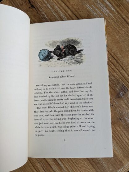 Chapter One - 1946 Through The Looking-Glass - Two Volumes - by Lewis Carroll. Published by Random House, New York - Special Edition